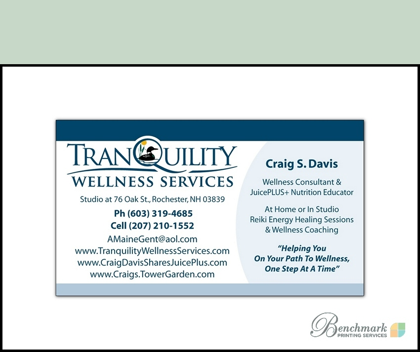 Benchmark Printing Services - Custom Business Cards